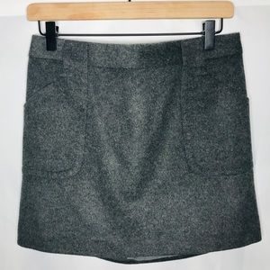 Jcrew wool skirt